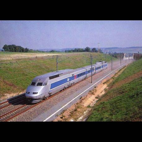 tgv atlantique record du monde de vitesse sur rail 515 3 km h le 18 mai 1990 carte neuve. Black Bedroom Furniture Sets. Home Design Ideas