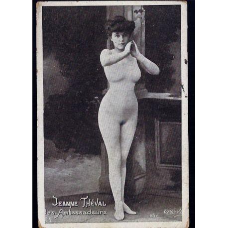 Nu artistique - Jeanne Theval des Ambassadeurs