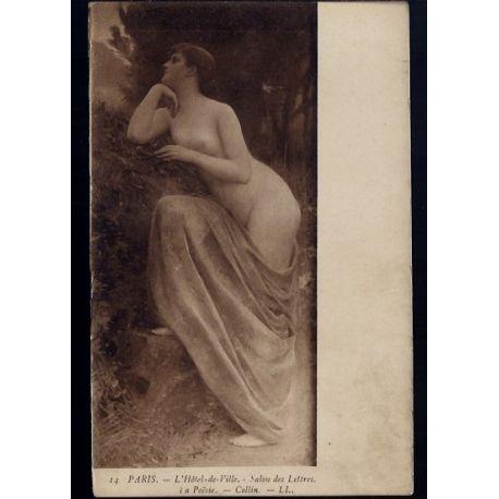 Nu artistique - La poesie par Callin