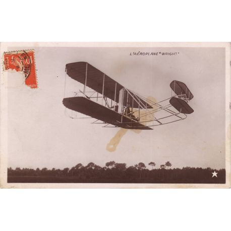 L'aeroplane Wright en vol