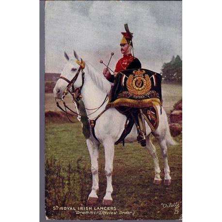 5th Royal Irish Lancers - Drummer Carte n'ayant pas voyage