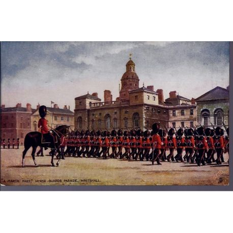 A march past - Horse Guards parade Whitehall Carte n'ayant pas voyage