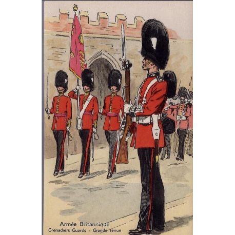 Armee Britannique - Grenadiers Guards - Grande tenue Illustree par Maurice Tou