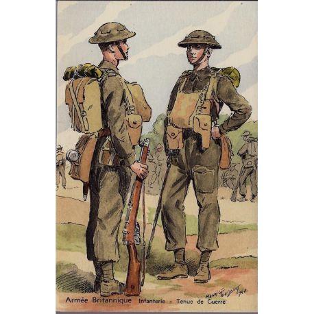 Armee Britannique - Infanterie tenue de guerre - 1940 Illustree par Maurice To