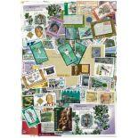 Sammlung gestempelter Briefmarken Jamaika