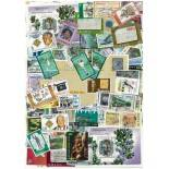 Used stamp collection Jamaica