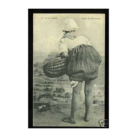 A la mer - Type de Pecheuse - 1911