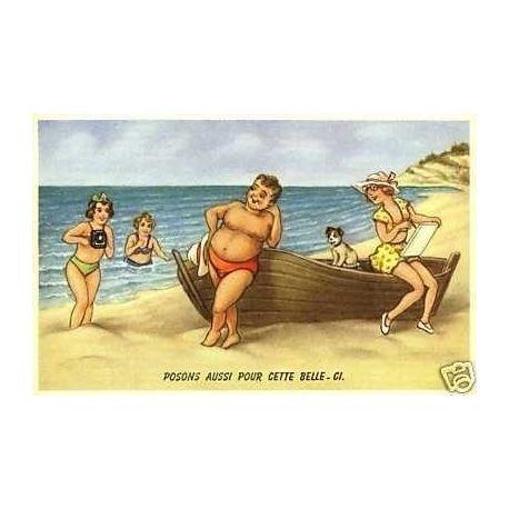 A la plage - Posons aussi pour cette belle-ci