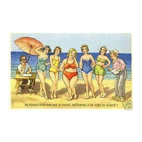 A la plage - Pretendre a un titre de beaute
