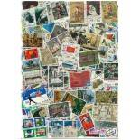 Sammlung gestempelter Briefmarken Japan