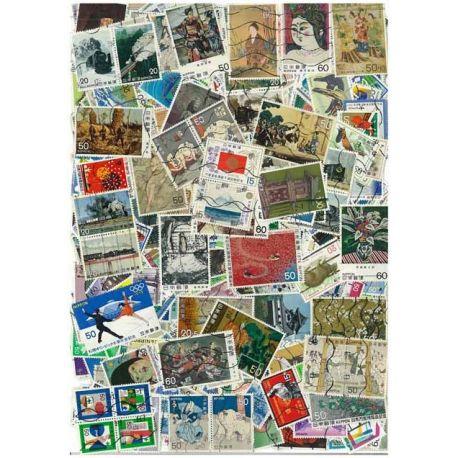 Japon - 100 timbres différents