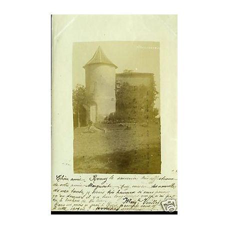 Carte-photo - Chateau - Non-situee