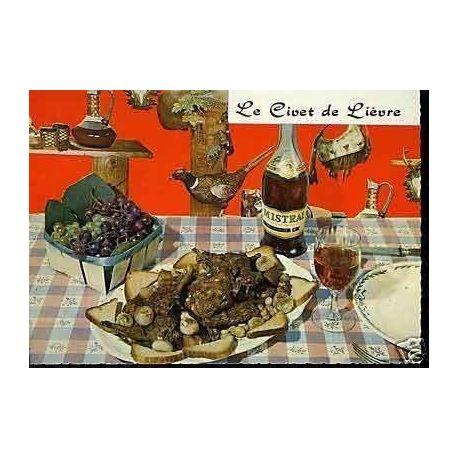 Carte Recette - Civet de Lievre