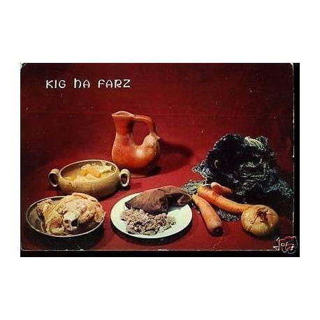 Carte Recette - Kig Ha Farz