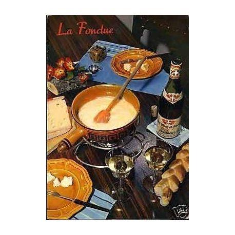 Carte Recette - La fondue