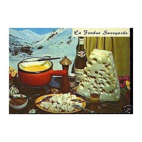 Carte Recette - La fondue Savoyarde