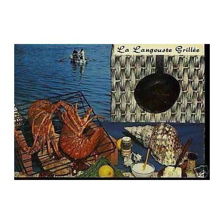 Carte Recette - La langouste grillee