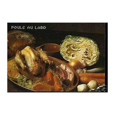 Carte Recette - La poule au lard