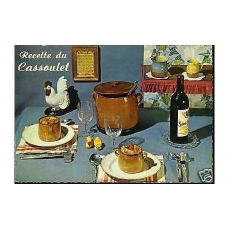 Carte Recette - Le Cassoulet