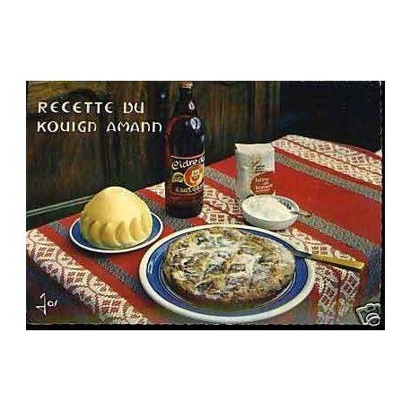 Carte Recette - Le Kouign Amann