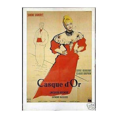 Carte-affiche Casque d'or - Simone Signoret