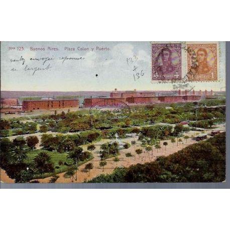 Argentine - Buenos Aires - Plaza Colon y Puerto