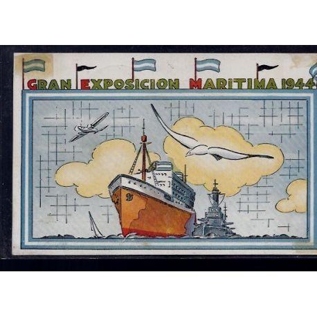 Argentine - Gran Exposicion Maritima 1944 - Obliteration de l'exposition