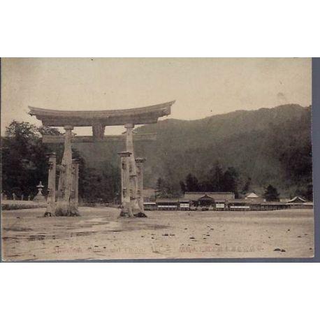 Japon - Miyajima Shrine and Otorii. Aki.