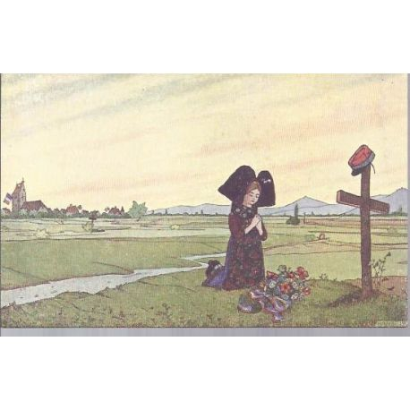 Hansi - 1 - La priere d'Alsace - Edition Gallais N° 1