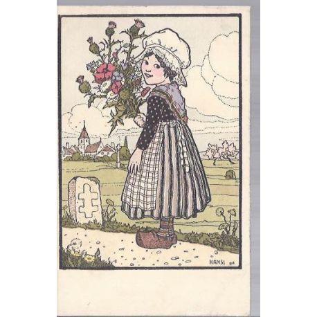 Hansi - 12 - Lorraine d'apres l'estampe - Edition Gallais N° 29