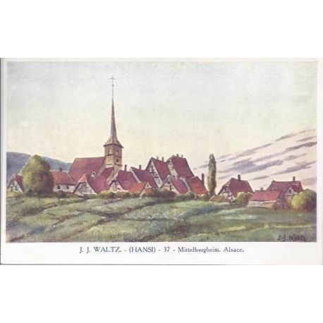 Hansi - 37 - Mittelbergheim - Alsace - couleur