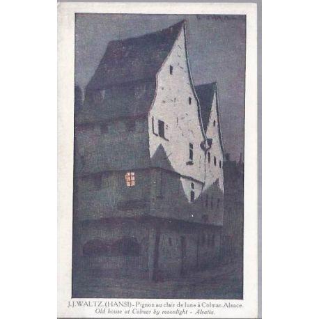 Hansi - Pignon au clair de lune a Colmar