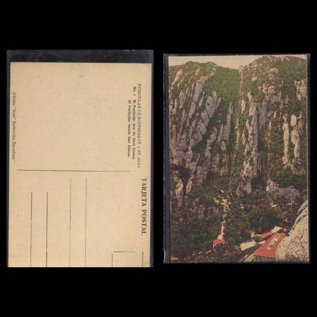 Espagne - El funicular des de Sant Dimes - Funiculare de Montserrat a St Joan