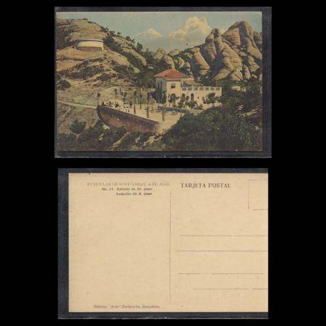 Espagne - Estacio de St Joan - Funiculare de Montserrat a St Joan