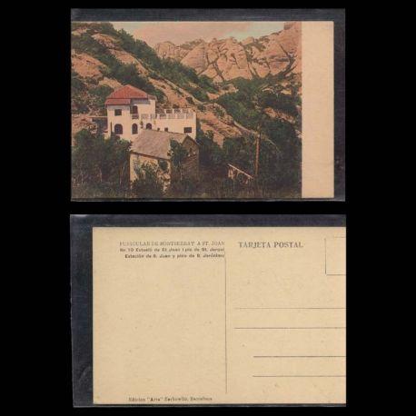 Espagne - Estacio de St Joan i pic de St Joan - Funiculare de Montserrat a St Joan
