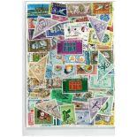 Sammlung gestempelter Briefmarken Jordanien