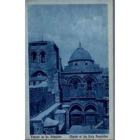 Israel - Facade du Saint Sepulcre