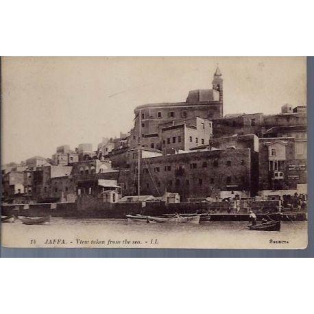 Israel - Jaffa - Vue prise de la mer