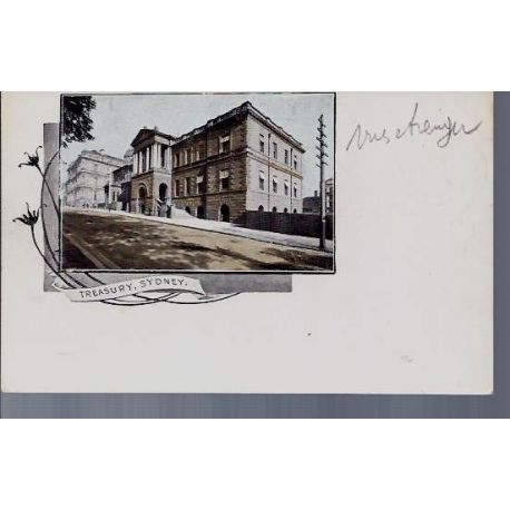 Australie - Sydney - Treasury - Private Post Card