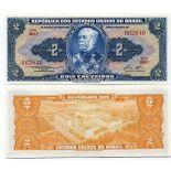 Billet de collection Bresil Pk N° 151 - 2 Cruzeiros