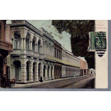 Cuba - Havana - Residences