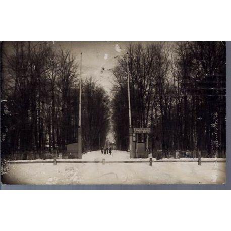 Lettonie - Parc sous la neige