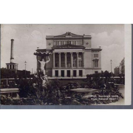 Lettonie - Riga - Opera National