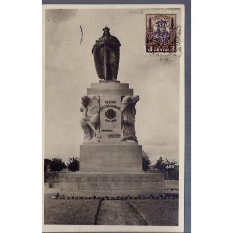Lituanie - Kaunas - Monument a Vytautas - 1934