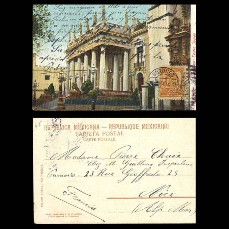 Mexique - Guanajato - Teatro Juarez