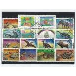 Collection de timbres Kazakhstan oblitérés