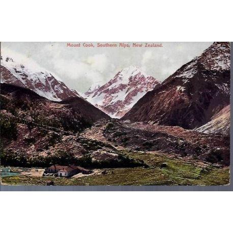 Nelle Zelande - Mount Cook - Southern Alps
