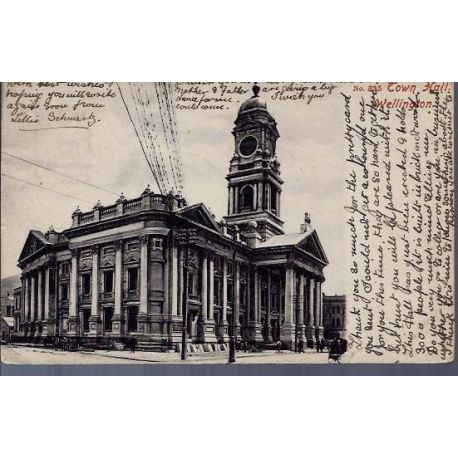Nelle Zelande - Wellington - Town Hall