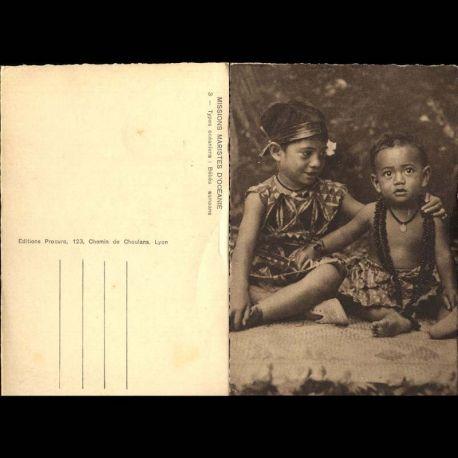 Samoa - Missions Maristes d'Oceanie - Bebes Samoans