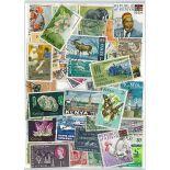 Colección de sellos Kenia usados
